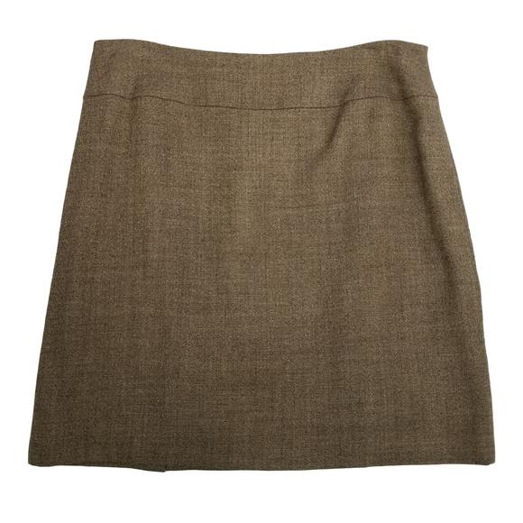 df11a110a2 ANTONIO MELANI Skirts | 12 Brown Back Slits Pencil Skirt | Poshmark